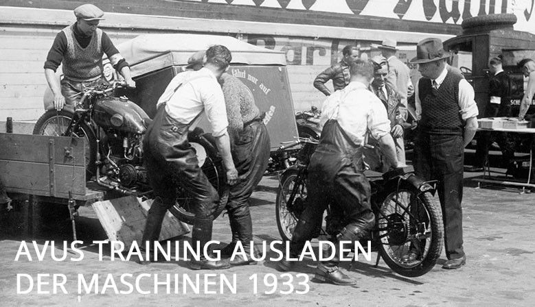 Avus Training - 1933